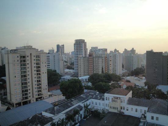 Meliá Campinas : Nice city view from the back rooms!