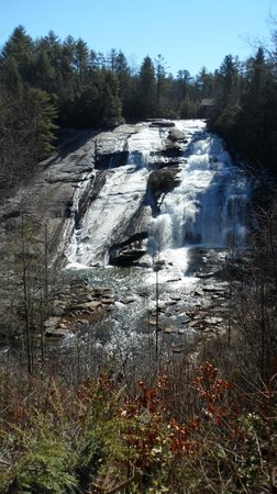 Ash Grove Mountain Cabins & Camping: High Falls in Dupont State Recreational Forest