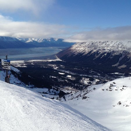 Hotel Alyeska: From the top of the slopes!