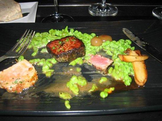 Restaurant Gary Danko : Bison and Pork