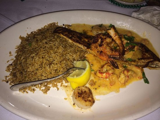 Pappadeaux Seafood Kitchen: The Mahi Alexander