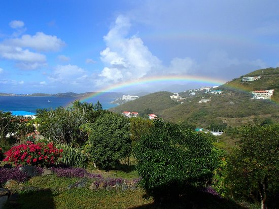 Villa Marbella Suites: Rainbow from Villa Marbella