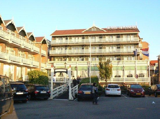 Hotel Spaander: Vista trasera