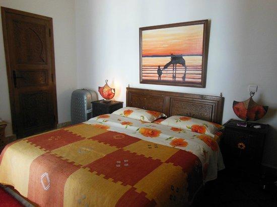 Riad Sesame : la chambre
