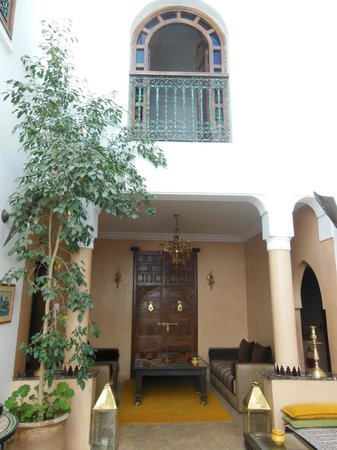 Riad Sesame: patio