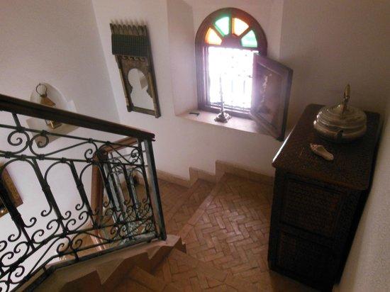 Riad Sesame: escalier