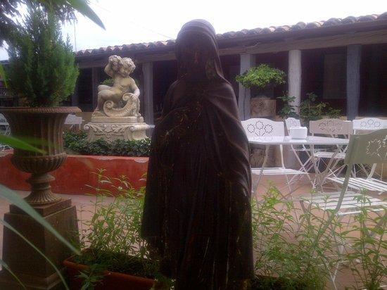 Hotel D0 Alesanco : terraza
