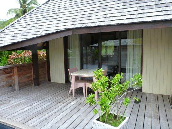 Hilton Moorea Lagoon Resort & Spa: Bungalow 10