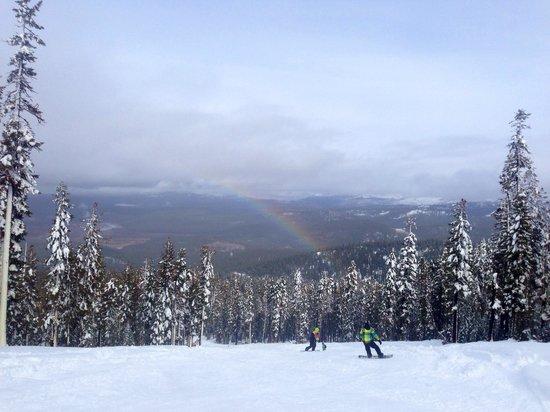 Northstar California: Beautiful rainbow