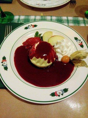 Wistub Brenner : Dessert : cheese cake