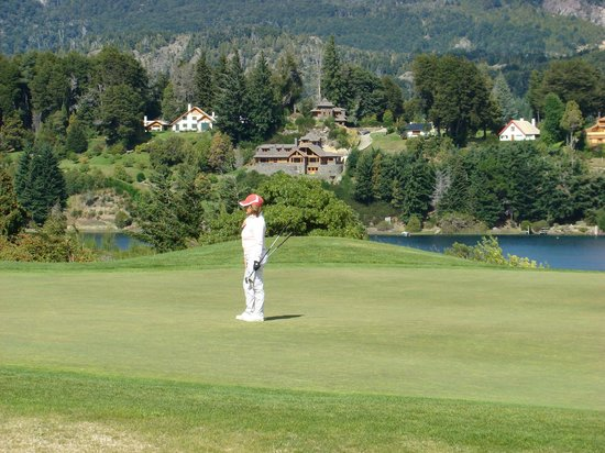 Llao Llao Hotel and Resort, Golf-Spa: Green del 8