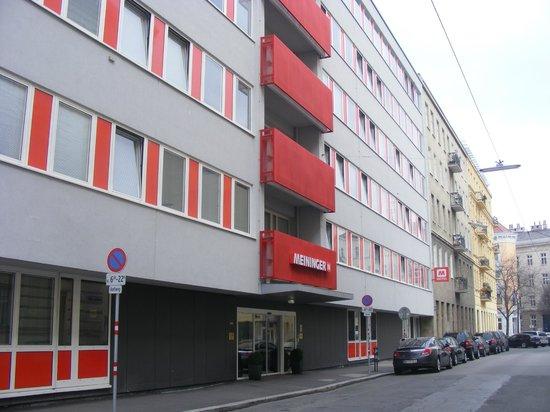 Outside Picture Of Meininger Hotel Wien Downtown Sissi Vienna Tripadvisor
