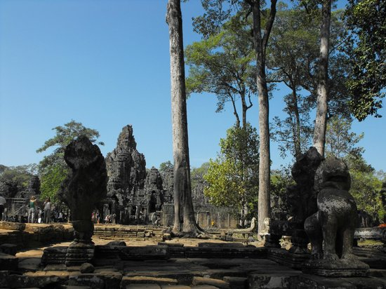 Overall view of Angkor Thom