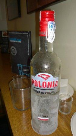 Bayres beef Argentina en tapas: Magnifico Vodka Polaco