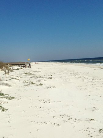 The Old Carrabelle Hotel: Magnificent beaches in St. George Island State Park