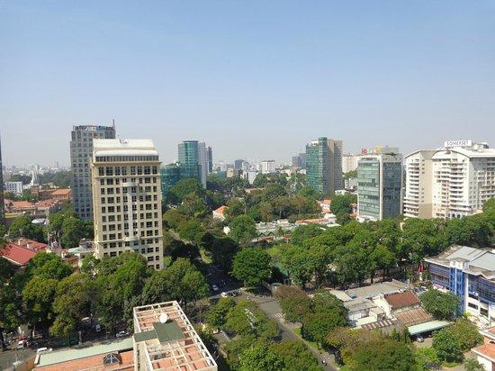 Sofitel Saigon Plaza: Sur le toit de l´hotel