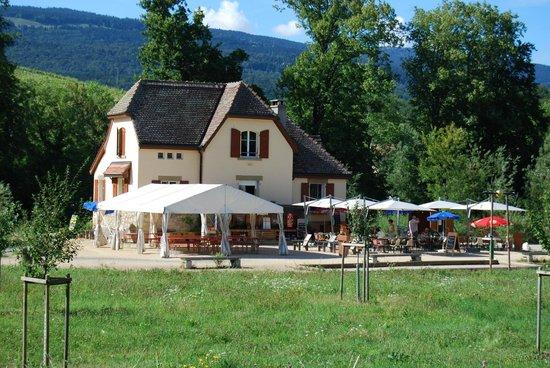 La Maison du Pervou : La terrasse