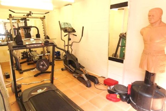 Tomaria Bed and Breakfast: Gym