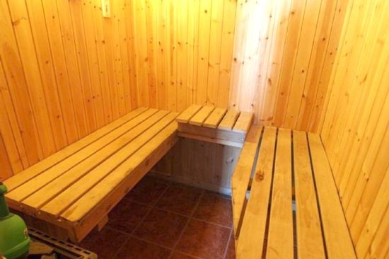 Tomaria Bed and Breakfast: Sauna