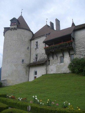 Castillo de Gruyères: Torre espectacular. Muy bien cuidado