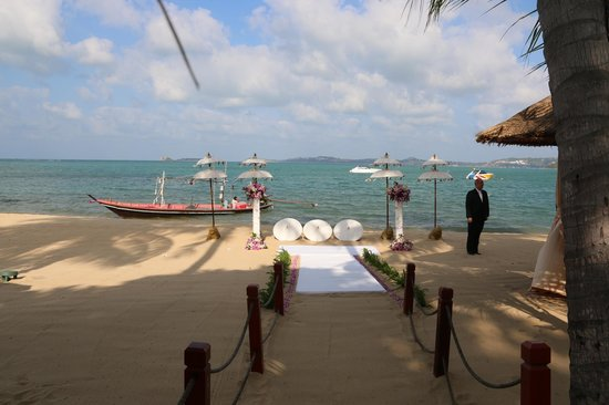 Zazen Boutique Resort & Spa : Beach ceremony