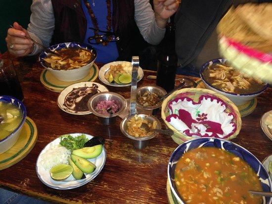 Restaurante El Caldero: Chilango, tlalpeño y mondongo