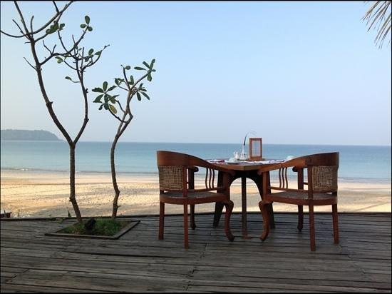 Ngapali Bay Villas & Spa : breakfast