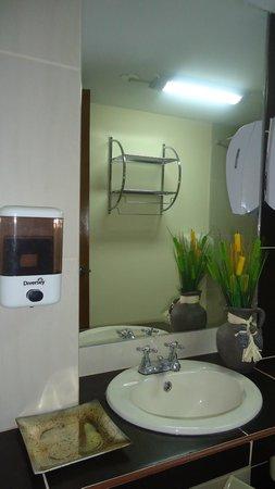 Qhapac Nan Hotel: Baño