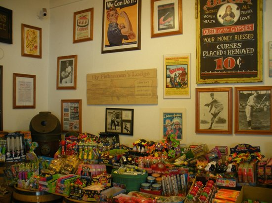 inside the Candy Baron