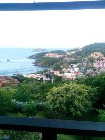 Buzios San Francisco: Vista de Joao Fernandez desde el balcón