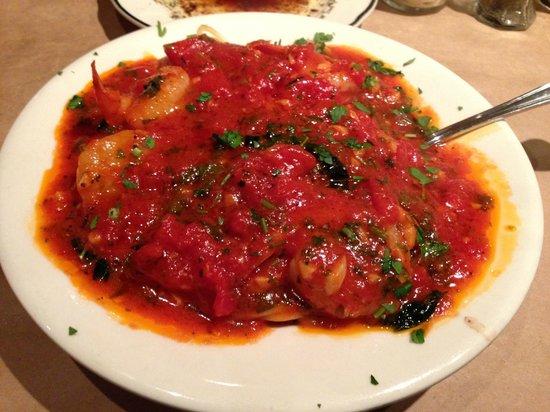 La Bella Napoli Italian Restaurant : Shrimp Marinara