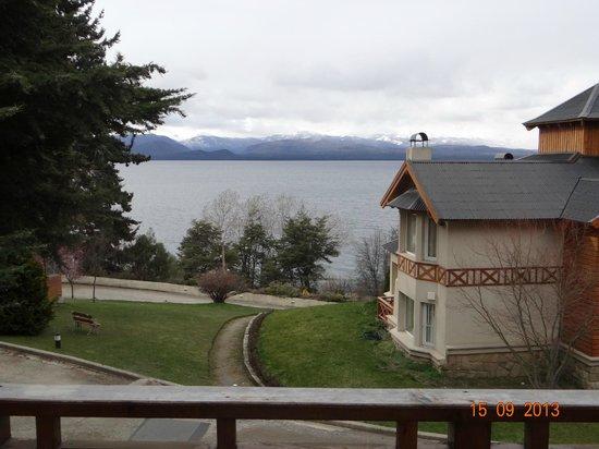Villa Huinid Resort & Spa: Vista al lago desde cabaña de 1 dormitorio