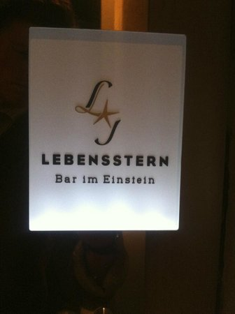 Photo of Restaurant Lebensstern - Bar im Einstein at Kurfurstenstrasse 58, Berlin 10785, Germany