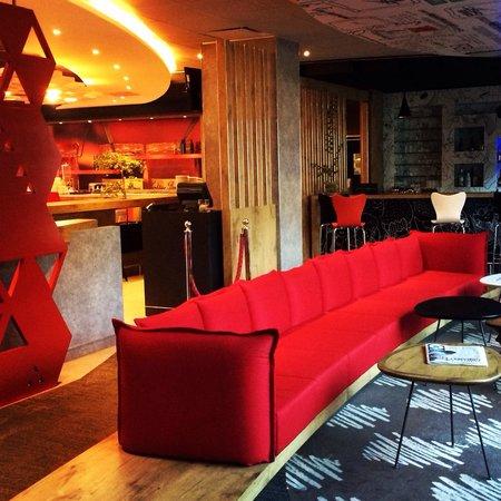 Ibis Guadalajara Expo: New hotel lobby