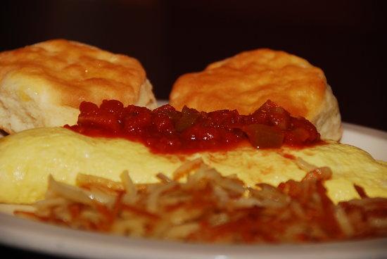 Southwestern Omelet - Picture of Midland Restaurant, Alcoa ...