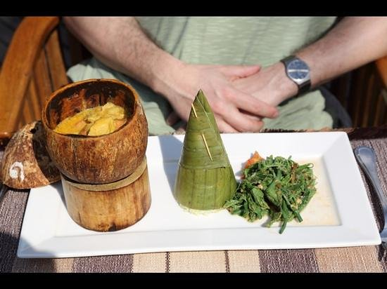 Inle Resort & Spa: gorgeous lunch