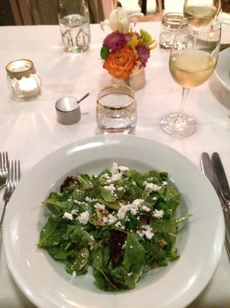 Catharina's Restaurant at Steenberg: Superb green salad