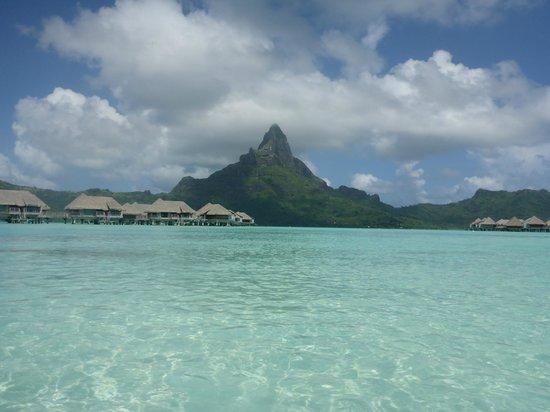 InterContinental Bora Bora Resort & Thalasso Spa: Another view of Otemanu