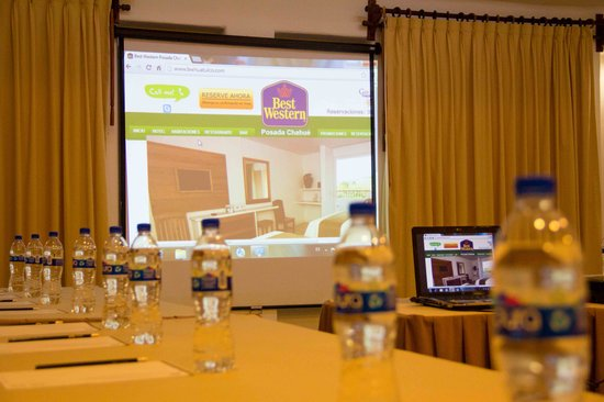 BEST WESTERN Posada Chahue: petit committee, meetings and job boards. meetings up to 60 people. audio visual equipment avail