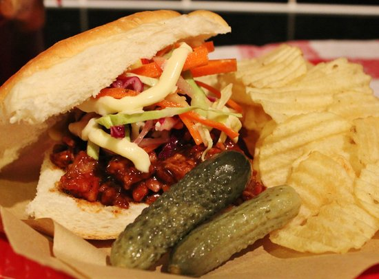 Back Porch Barbque: Tradional American Barbeque sandwiches