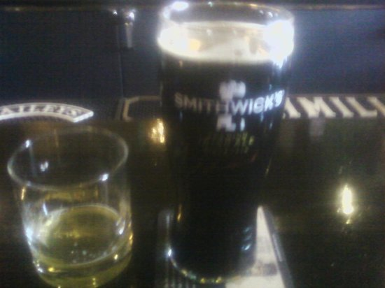 Logan's Irish Pub: A Sample of Bell's And a local Stout