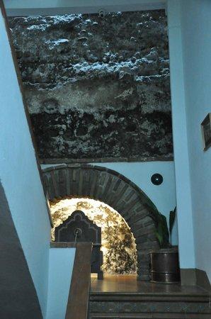 Apartamentos Muralla Ziri: Stairwell
