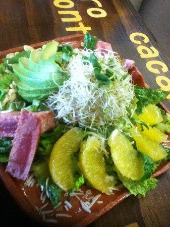 Camino Ka'kaw: Forastera salad