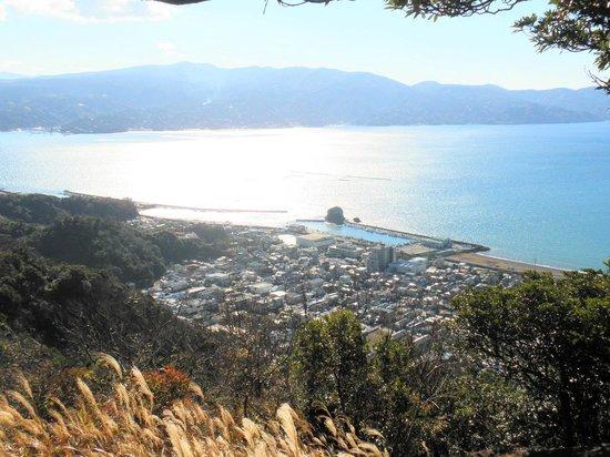 Shizuoka Prefecture, Japan: 伊豆半島を望む