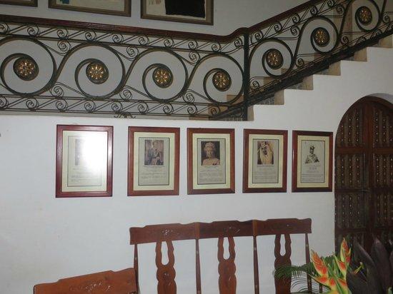 Hotel Hacienda Uxmal Plantation & Museum: illustere Gästeliste