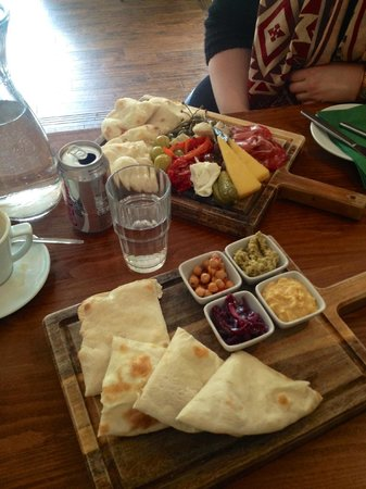 The Quarter: mezze boards