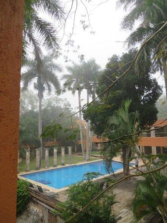 Hotel Hacienda Uxmal Plantation & Museum: gepflegter Dschungel