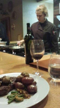 Inn at Desert Wind Winery: Mojave - Ribeye at Chef's counter