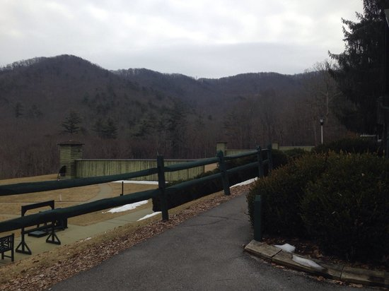 The Greenbrier: The range