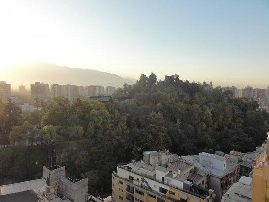 Bellas Artes: Vista do Cerro de Santa Lúcia do Quarto do Apartamento